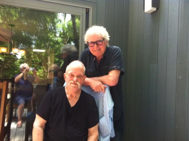 With John Abercrombie